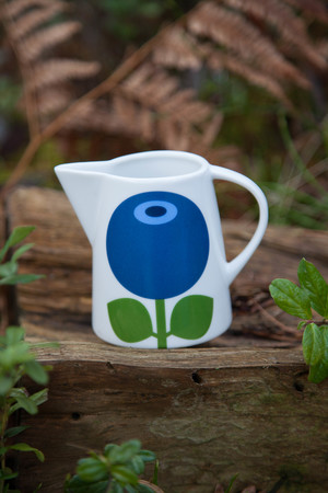 Milk jug Blueberry, 9 cm