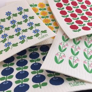 5-pack disktrasa, skandinaviska blommor & bär
