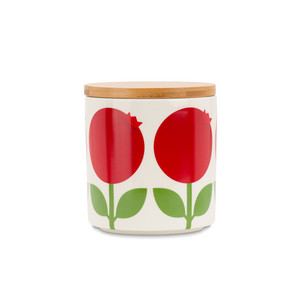 Jar 0,75 L with wood lid, Lingonberry (second choice)