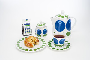 Cup with saucer 25 cl, Blueberry (second choice)