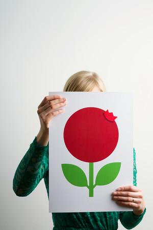 Poster A3, Lingon