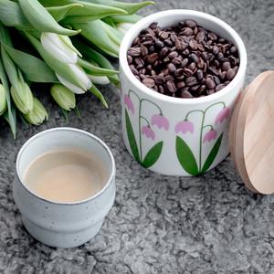 Jar 0,75 L with wood lid, Linnea (Second choice)