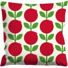 Cushion cover 50x50 cm, Lingonberry