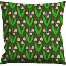 Cushion cover 50x50 cm, Linnea green