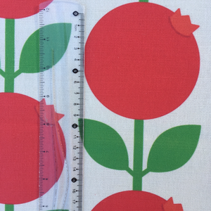 Fabric By The Meter, Lingonberry