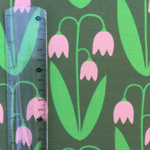 Fabric By The Meter, Linnea green