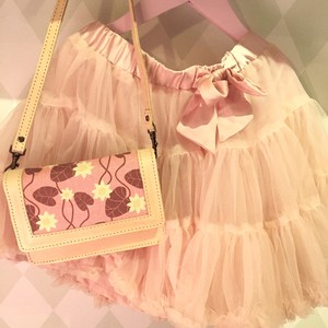 Skinnväska mini, Näckros rosa