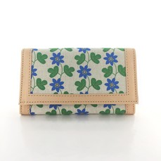 Leather wallet Hepatica