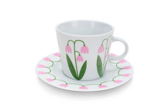 Cup with saucer 25 cl, Linnea