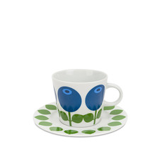 Cup with saucer 25 cl, Blueberry