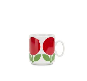 Mugg  (stapelbar) 30 cl, Lingon (2-handssortering)