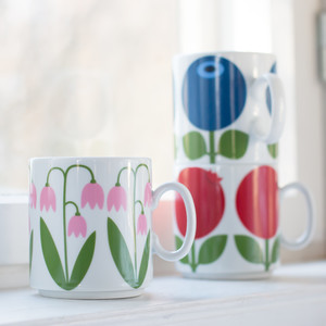 Mug (stackable) 30 cl, Lingonberry (second choice)
