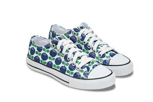 Sneakers blåbär i gympapåse, endast stl  40 kvar!