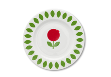 Plate Lingonberry, 19 cm
