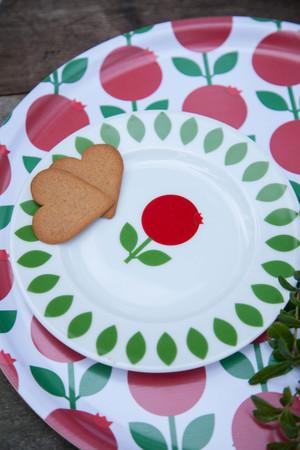 Plate Lingonberry, 19 cm