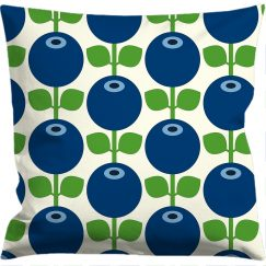 Cushion cover 50x50 cm, Blueberry