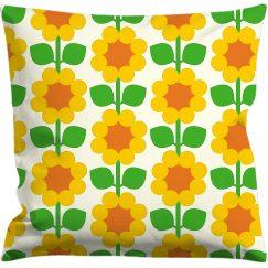 Cushion cover 50x50 cm, Cloudberry