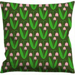 Kuddfodral 50x50 cm, Linnea grön